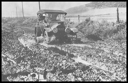 Above This Was Typical Of An Outing On California Highways In The Early 20th Century This Picture Was Taken On What Is Now Us 101 In Ventura County